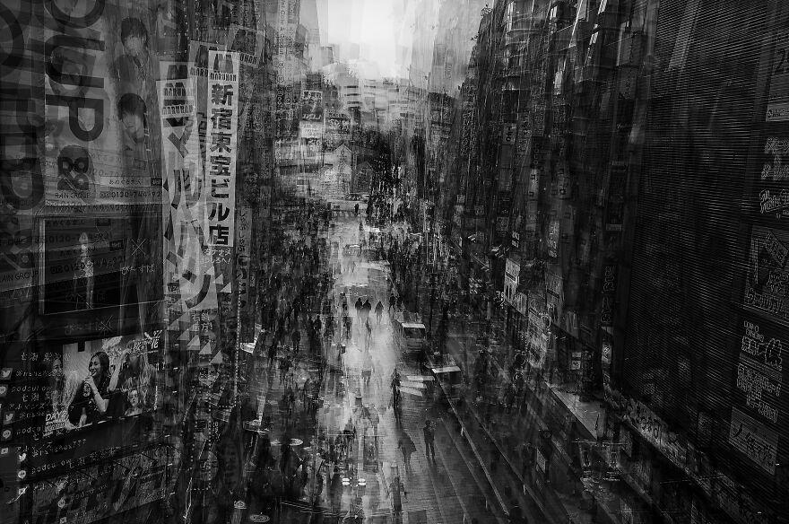 Shinjuku (Professional Fine Art & Abstract Category, 1st Place)