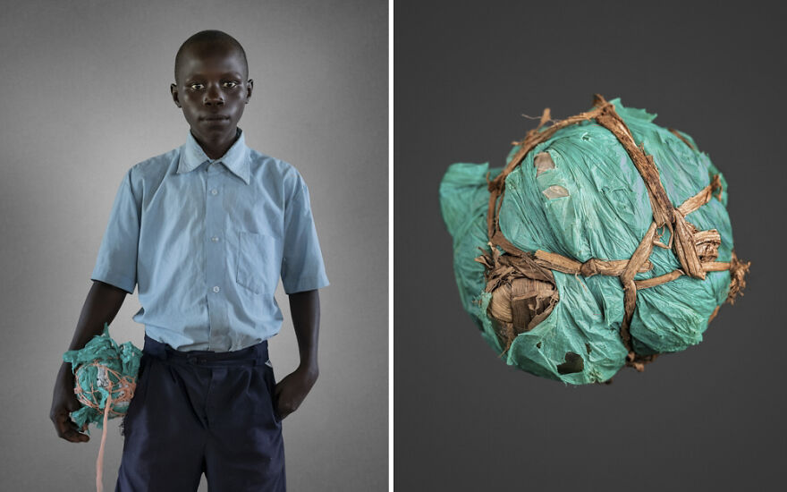 Odilo Lawiny - Handmade Soccer Balls (Professional People & Children Category, 1st Place)