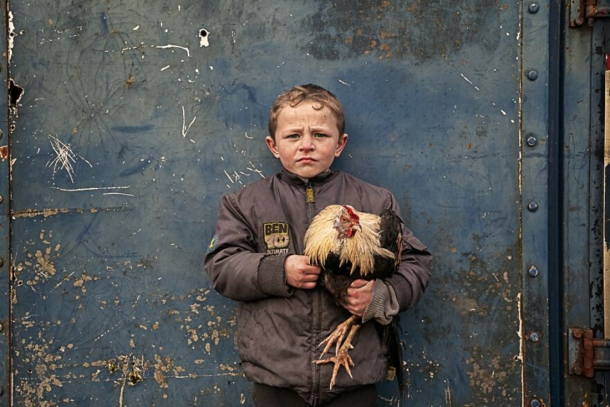 Irish Traveller Children (Professional People & Lifestyle Category, 1st Place)