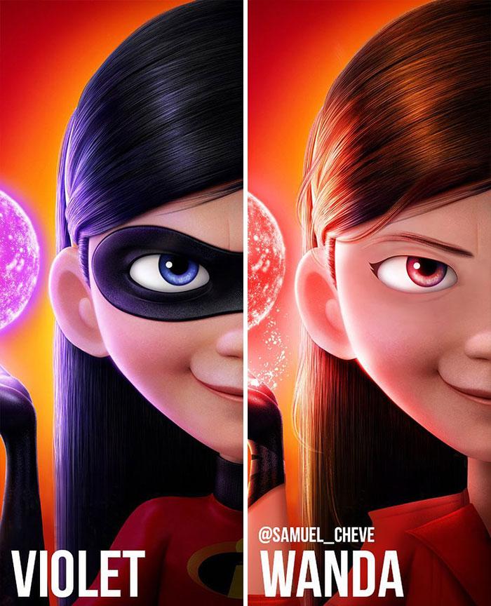 Violet And Wanda
