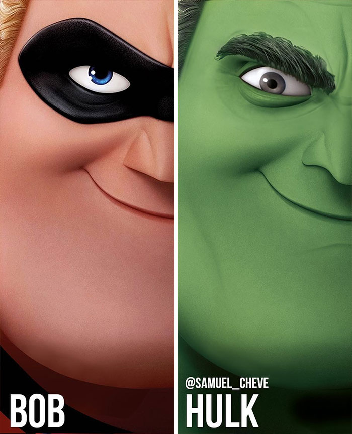 Bob And Hulk
