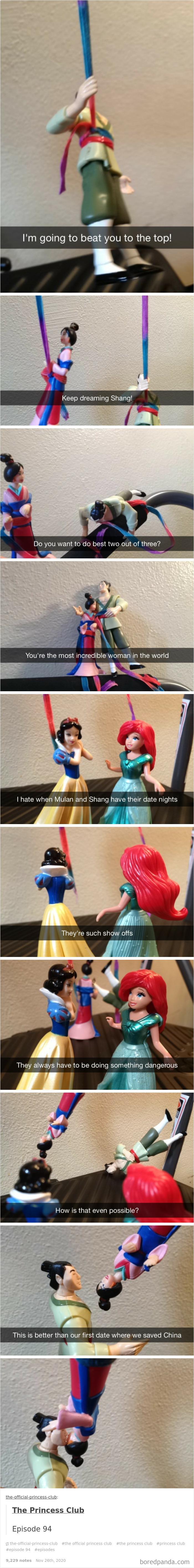 Mulan And Shang: Date Night
