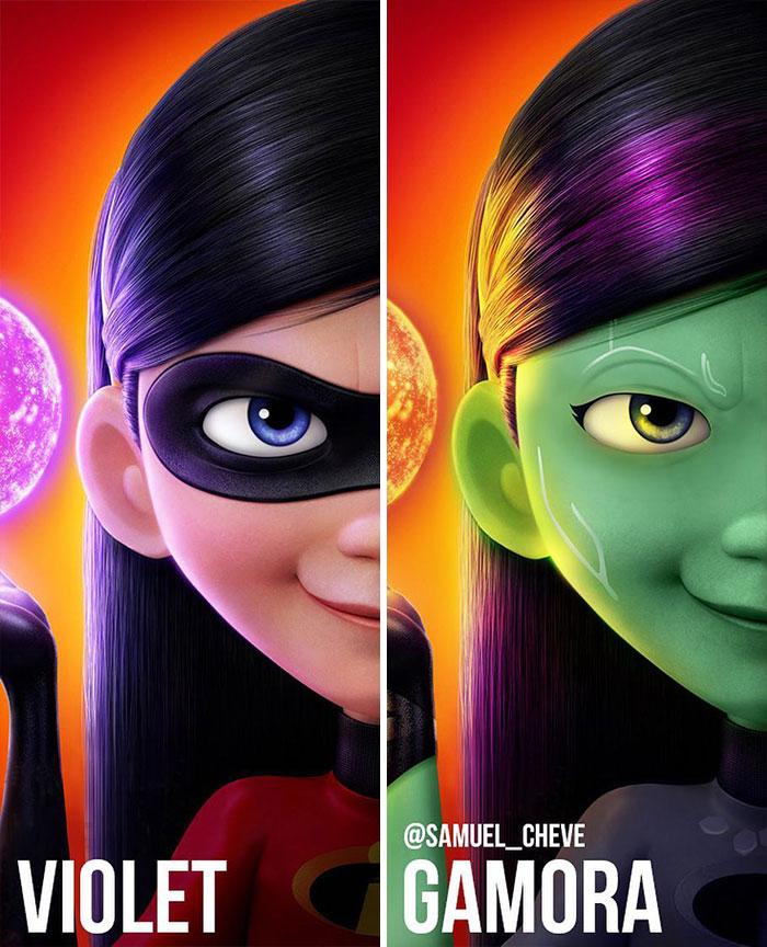 Violet And Gamora