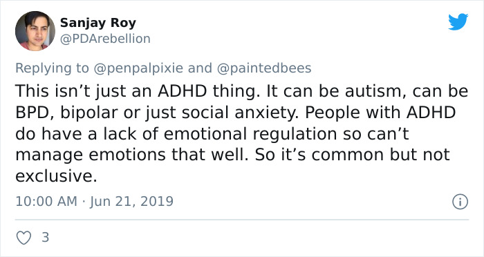 Individual Provides A Spot-On Clarification Of Rejection-Delicate Dysphoria, Many Are Shocked This ADHD Symptom Has A Title