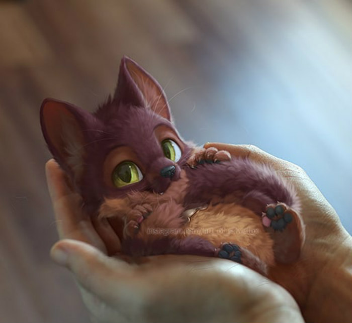 Digital-Art-Cute-Animal-Illustrations-In-Reality-Yee-Chong