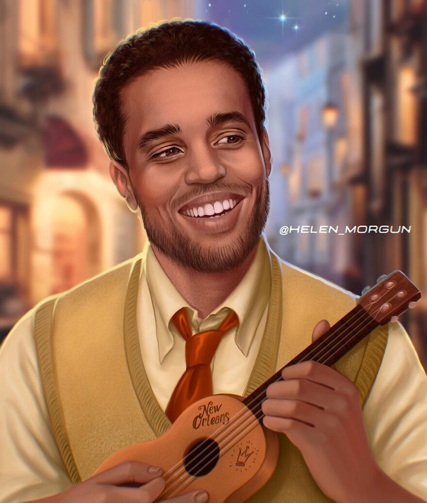 Michael Ealy As Prince Naveen