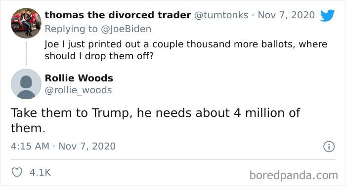 Found On One Of Biden's Latest Tweets