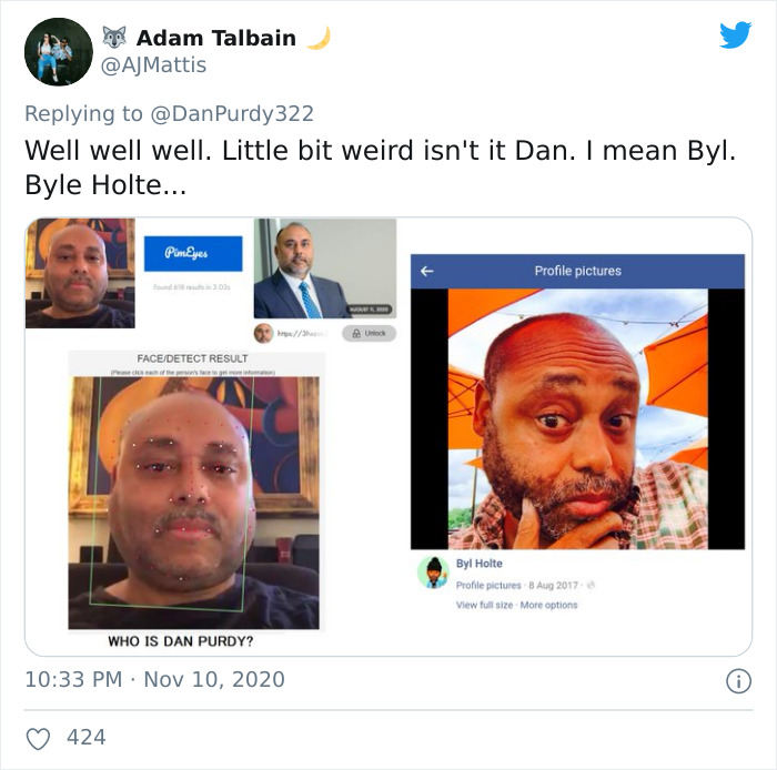 White Politician Forgets To Switch Accounts, Starts Commenting As A Black Trump Supporter