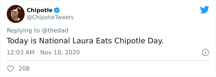 Husband Takes Trolling To The Next Level By Inventing A Burrito Day With The Help Of 'Chipotle' 5