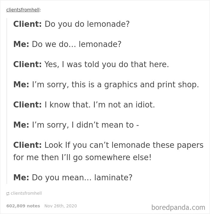 Do You Lemonade?...