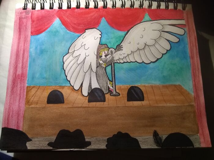 Assignment For My Art Class. I Think It's Pretty Good. Hope You Peeps Like
