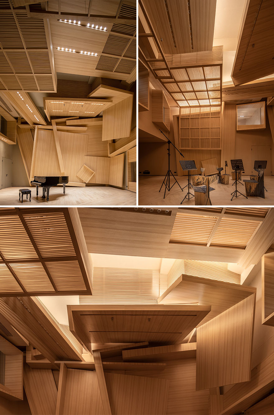Guangzhou Grand Theater Meilan Small Symphony Recording Studio (Best In Other Interior Design)