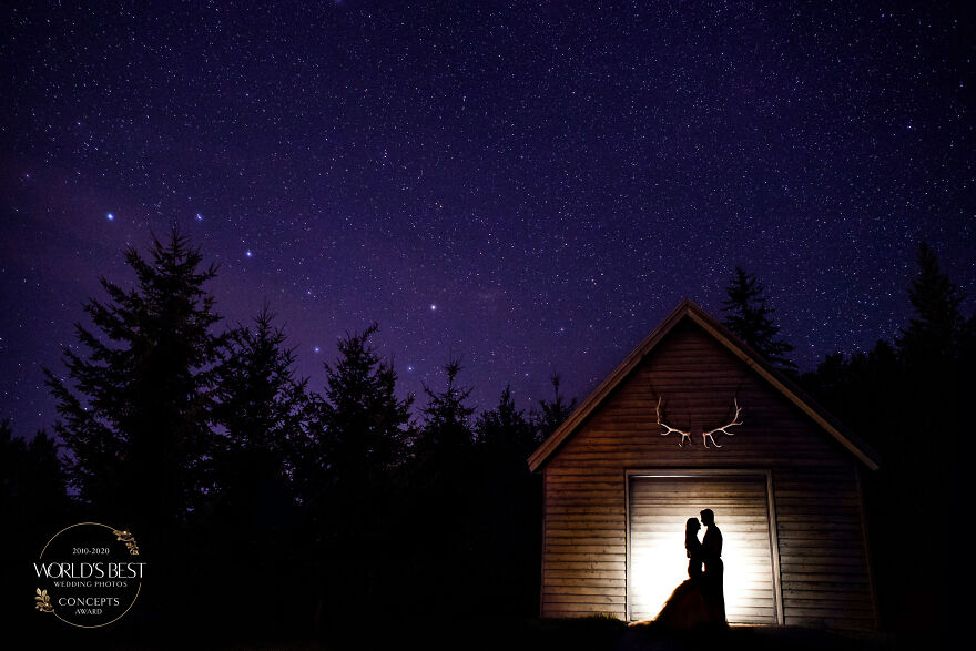 This Picture Perfect, Ethereal Night-Sky Silhouette By Elisha Stewart