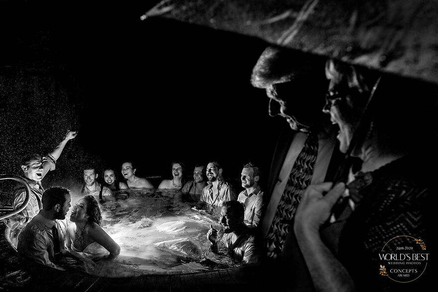 This Wild Party In A Hot Tub Witnessed By Mom And Dad By Jos & Tree