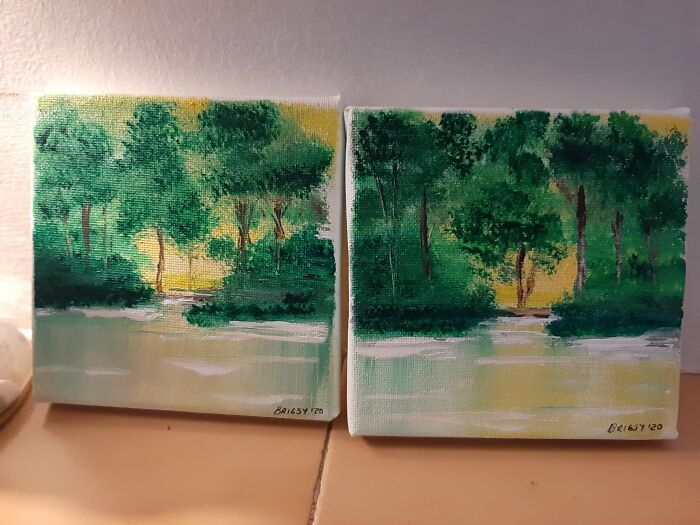 I Am By No Means An Artist, Wish I Was, But I Am Pretty Proud Of These With No Formal Training