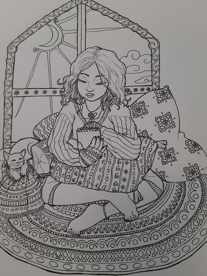 Last Page For A (Nearly Complete) Coloring Book