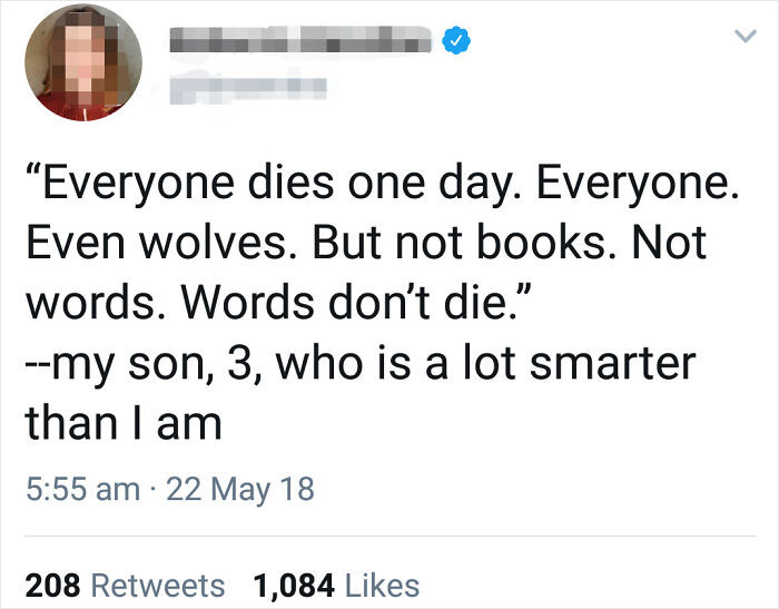 3-Year-Old Is Wiser Than Us All