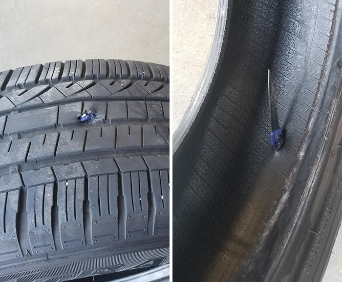 Tire Shop Employee Shares Pics Of The Things He Has Seen On The Job, And Here Are 28 Of The Craziest Ones