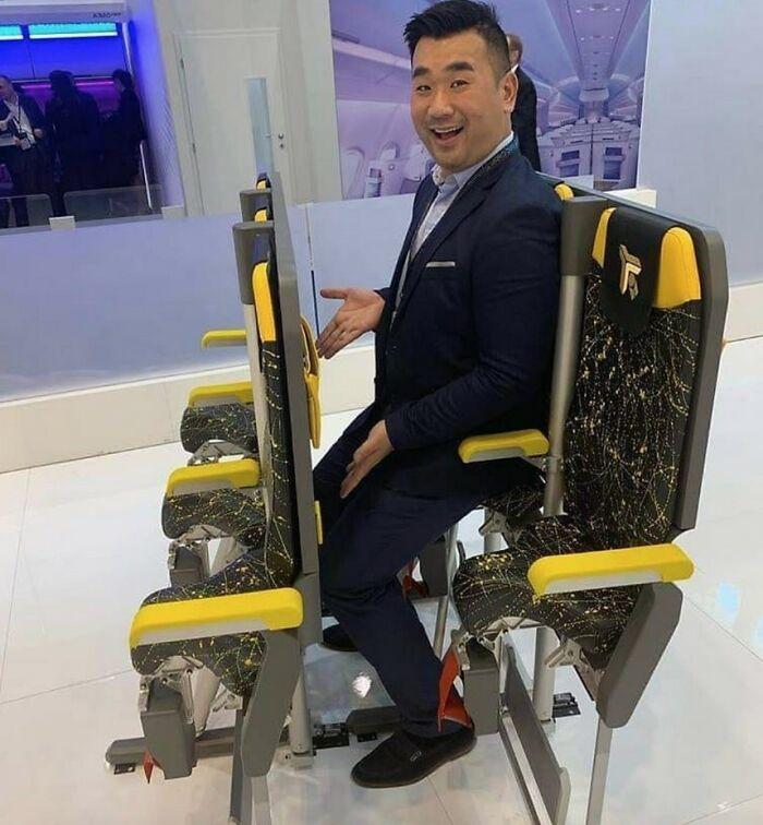 """New Prototype """"Economy"""" Airline Seats"""