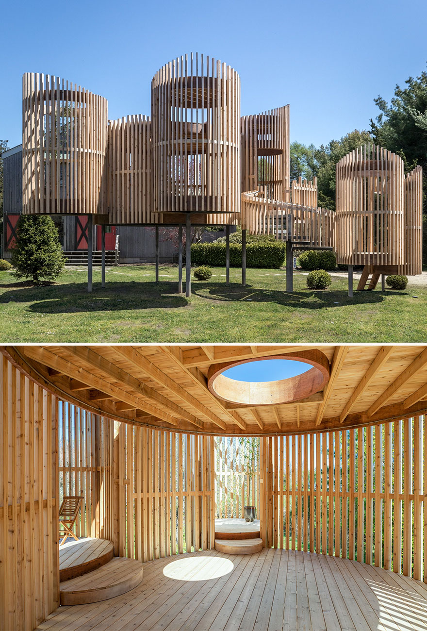Outside-In Pavilion (Best In Installations & Structures, Landscape Design)