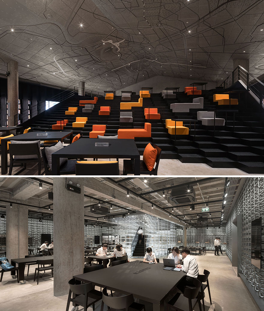 Architecture Library, Chulalongkorn University (Best In Public Spaces Interior Design)