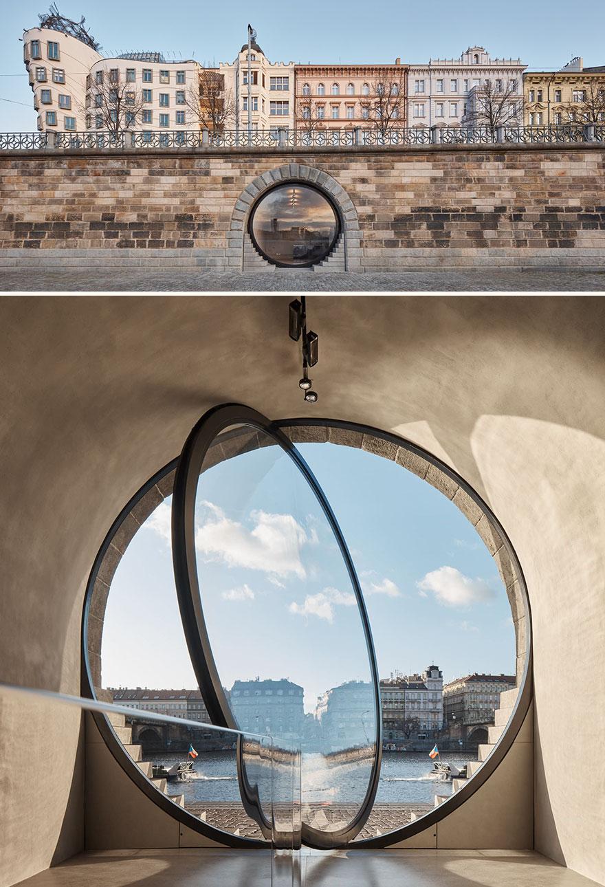 Prague Eyes - Riverfront Revitalisation (Best In Restoration & Renovation Architectural Design)