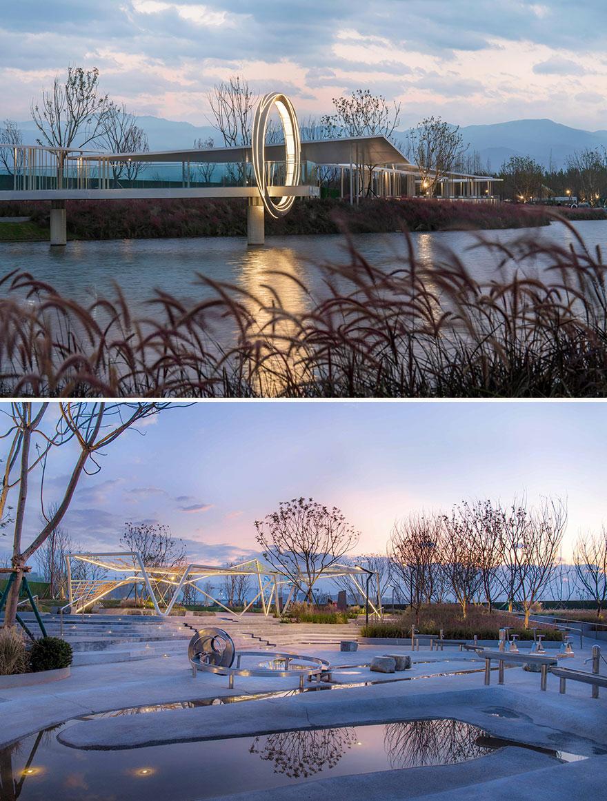 Qionghai 17 Degree Xingyue Lake Park (Best In Public Landscape Design)