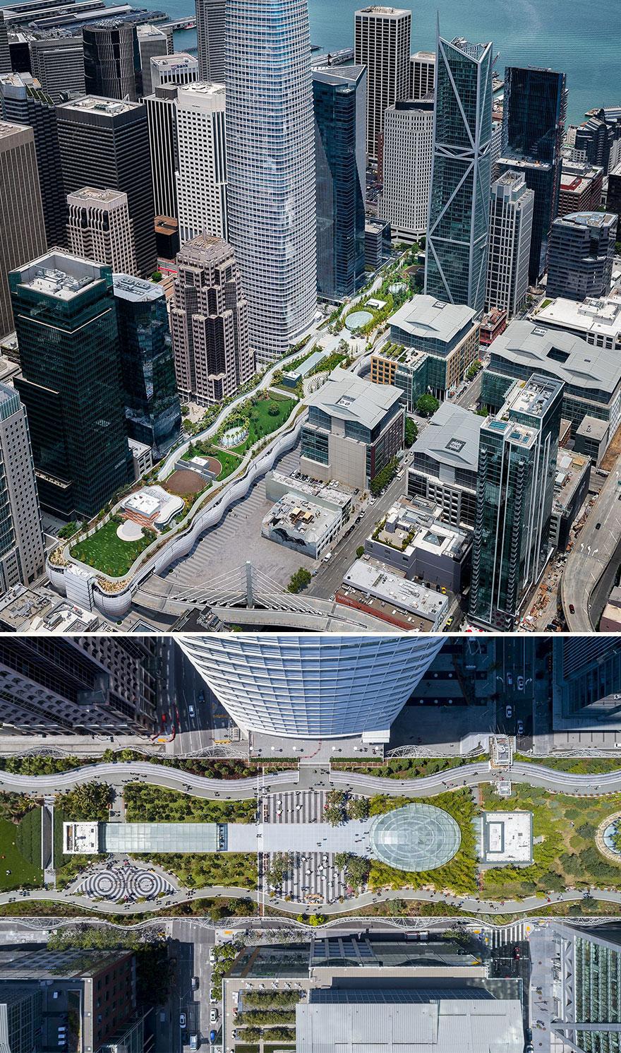 Salesforce Transit Center Park (Best In Large-Scale Landscape Projects)