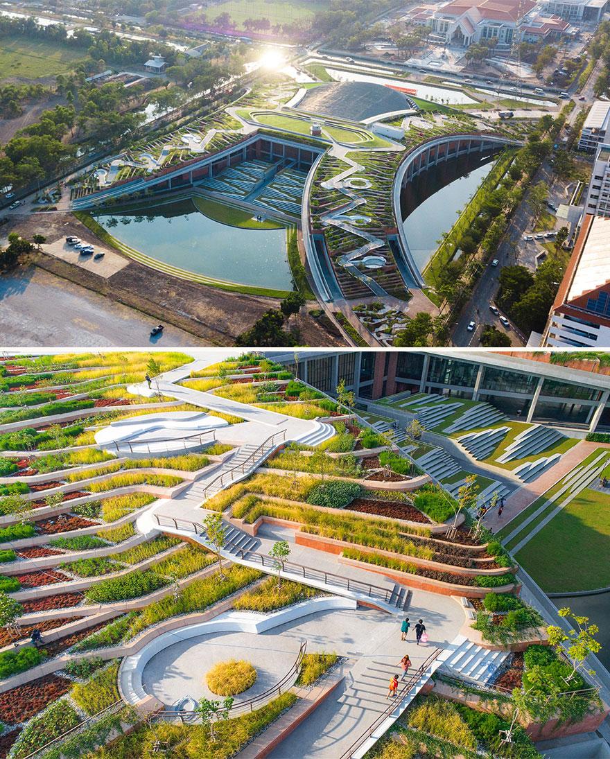 Thammasat Urban Farm Rooftop (Winner, Landscape Design Of The Year)