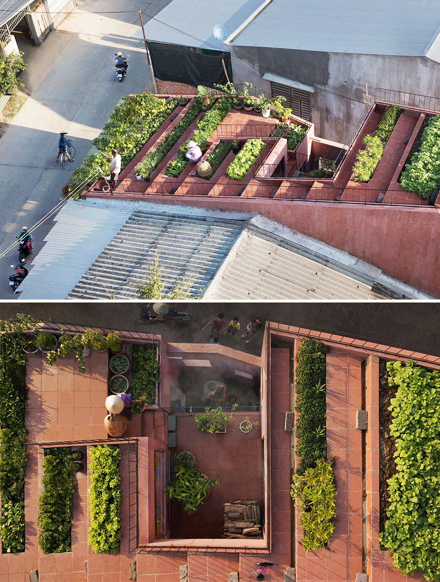 The Red Roof (Best In Green Architecture Design)