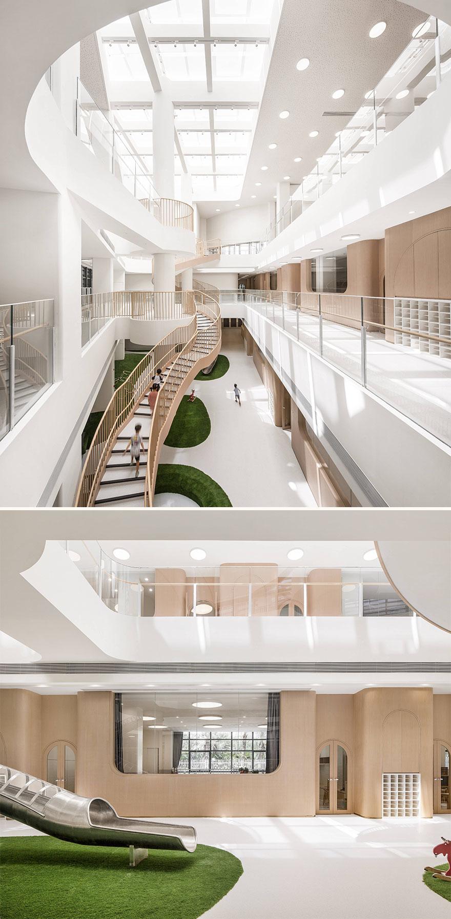 Wandering in the Woods—XinMeng, Montessori Kindergarten (Best In Educational Buildings Architectural Design)