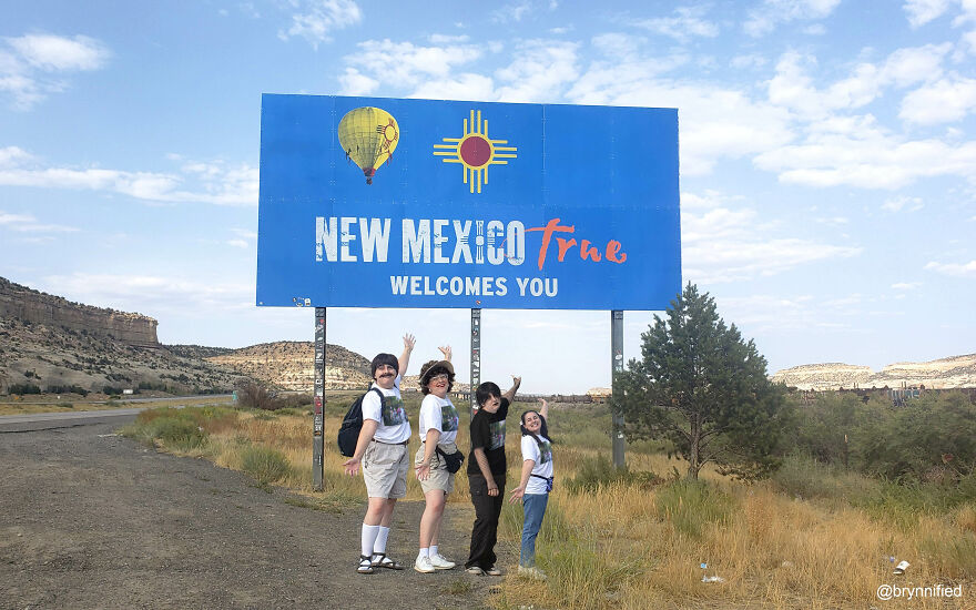 New Mexico Welcome Sign—Gallup, NM