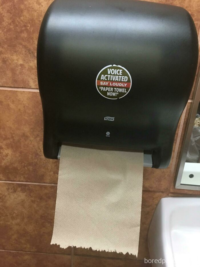 I Found This In A Burger King Bathroom