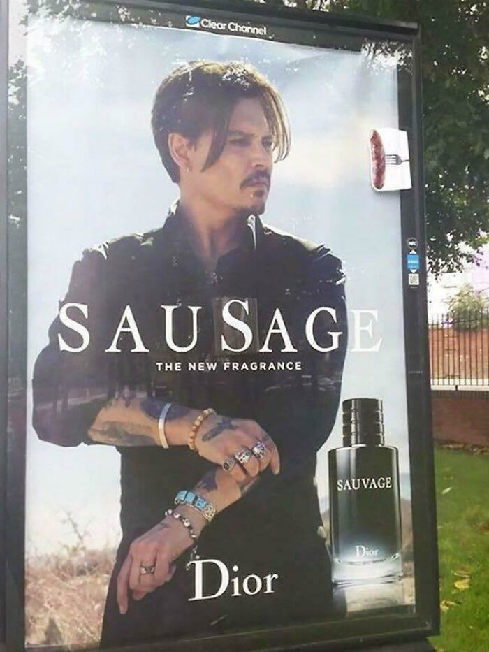 British Vandalism At Its Finest