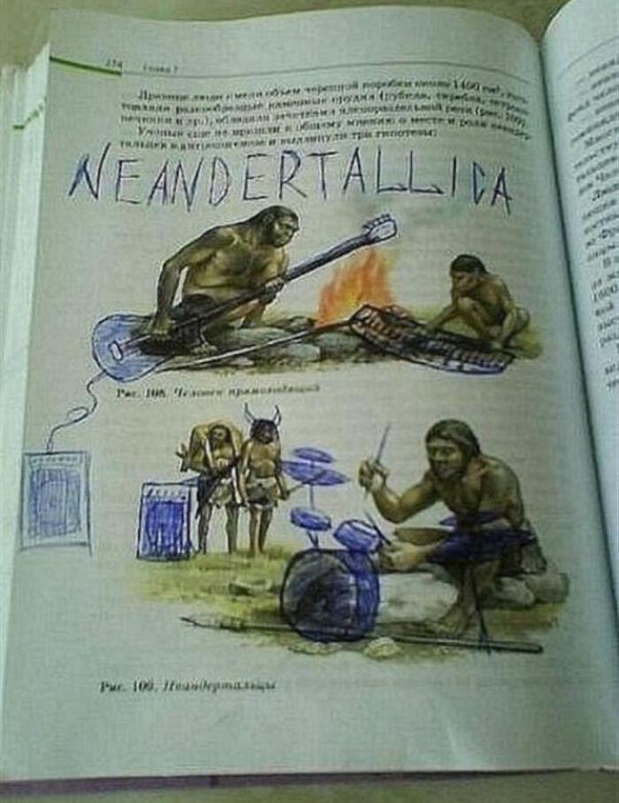 Ah Yes, Neandertallica