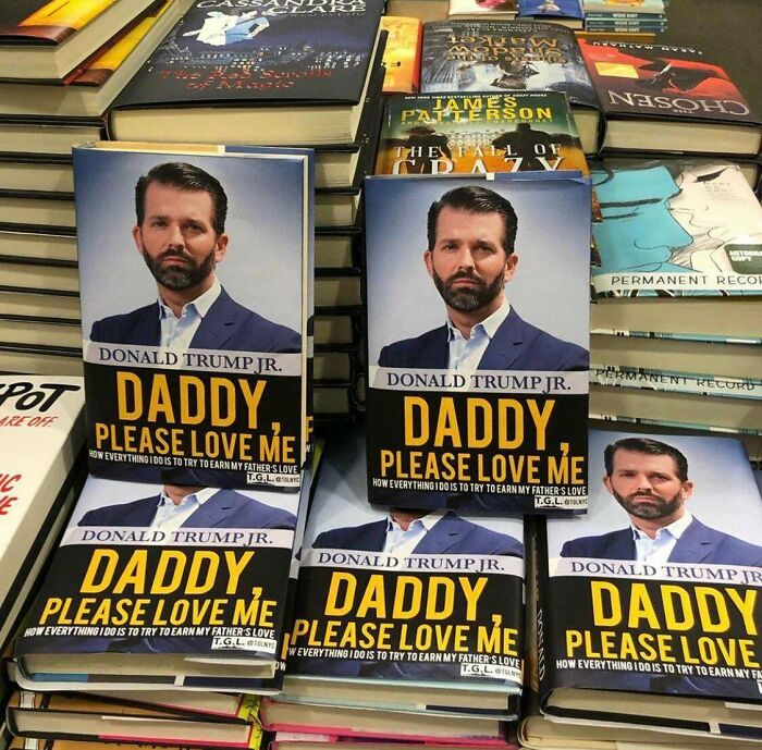Someone Changed The Covers Of Trump Jr.'s Book At Barnes & Noble