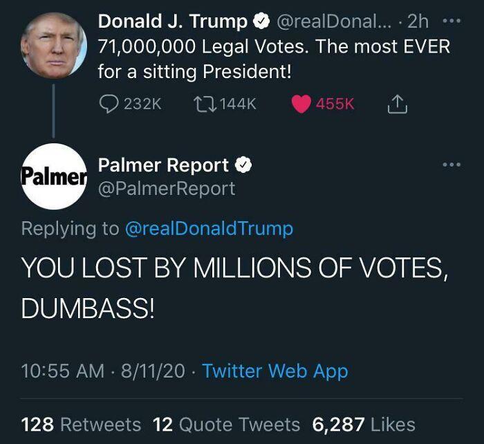 Trump Going Insane Rn
