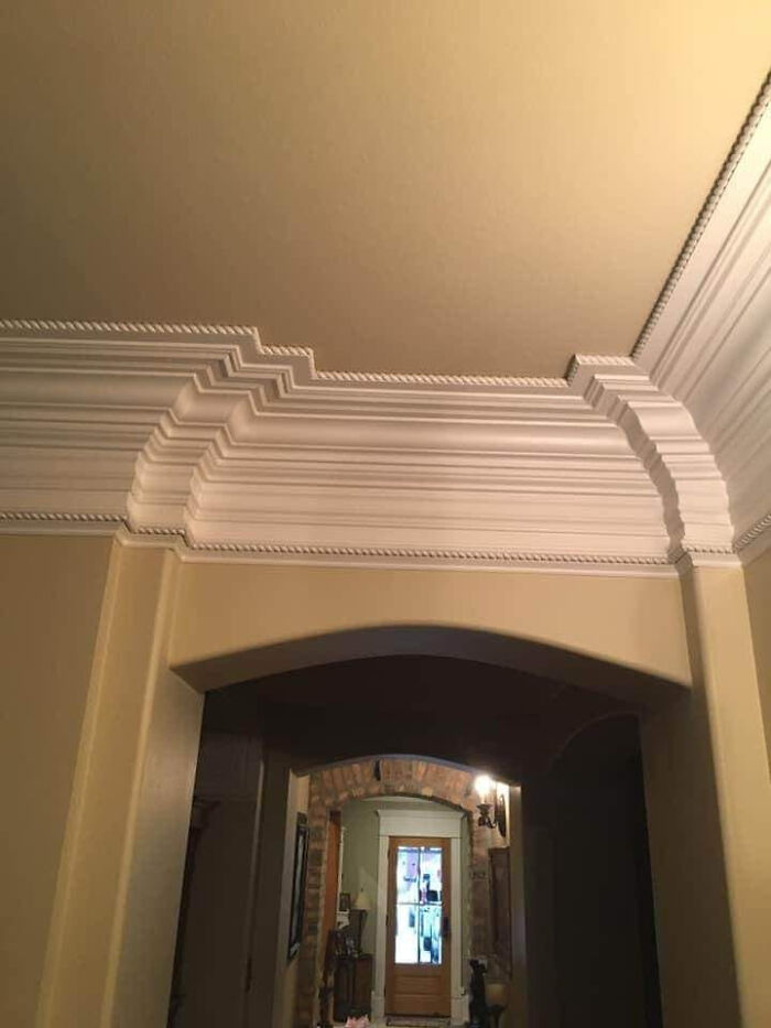 Who Says Crown Molding Is Overdone?