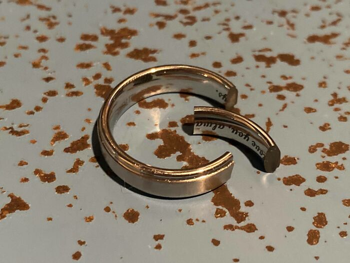 Dropped My Wedding Ring This Morning
