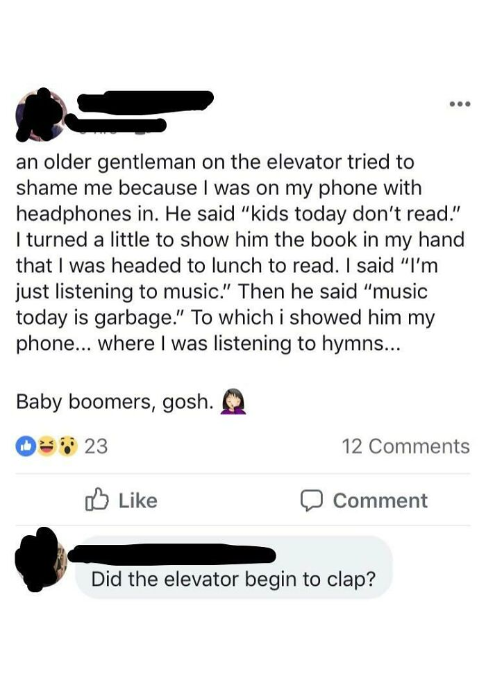 Baby Boomers, Gosh