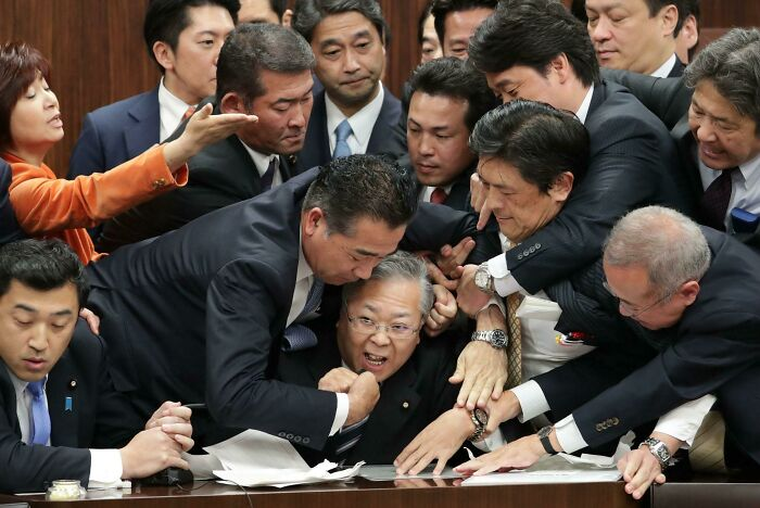 Japanese Opposition Members Trying To Block The Passing Of New Immigration Laws