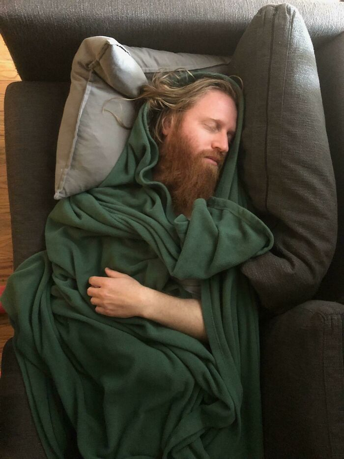Friend Took This Photo Of Me Napping The Other Day, Was Told I Should Post It Here
