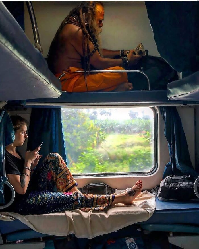 In The Train,india