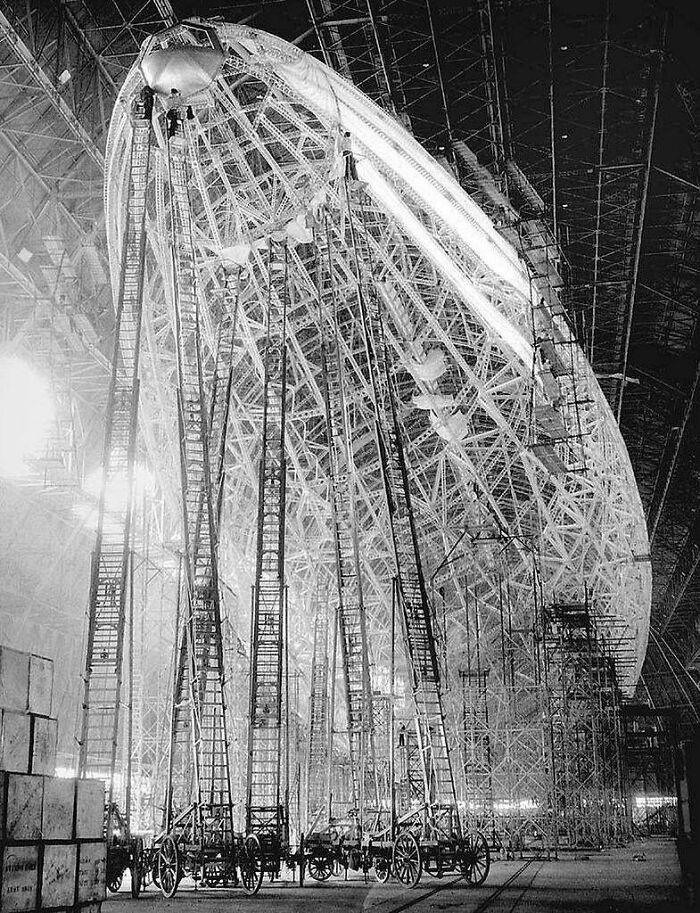 Fabricación del Hindenburg, 1932