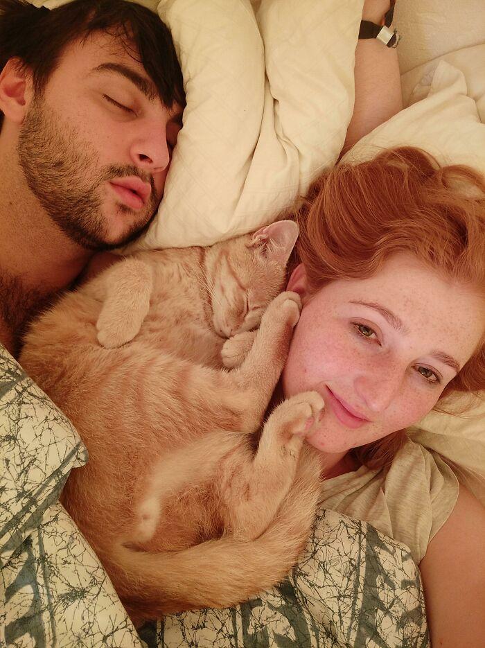 His Favourite Sleeping Spot