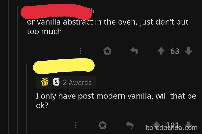 Vanilla Abstract