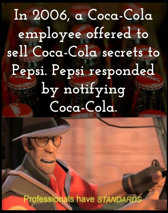 To Betray Coca Cola