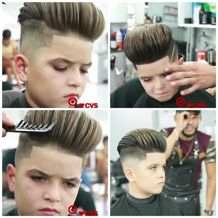 I Hate Seeing Kids Getting Forced Into Having Their Hair Cut. He Clearly Doesnt Like This