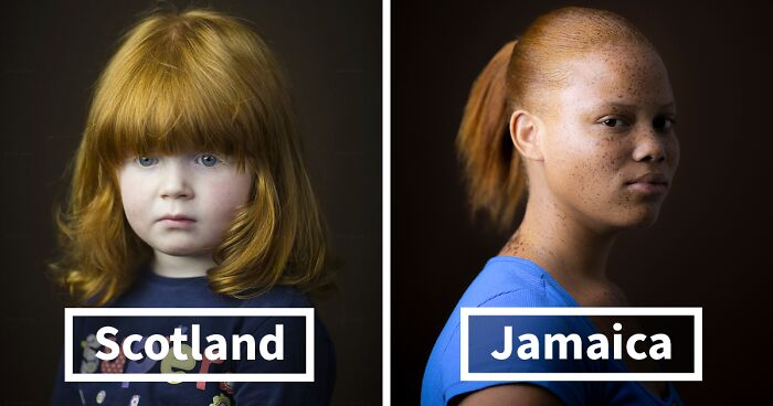 Photographer Has Been Capturing Gingers Around The World For 7 Years And Says It's Not Just About Hair (15 Pics)