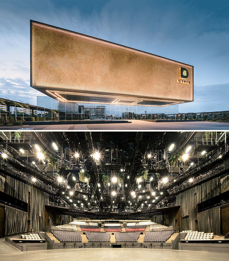 Singha D'luck Cinematic Theatre (Best In Commercial Architecture Design)